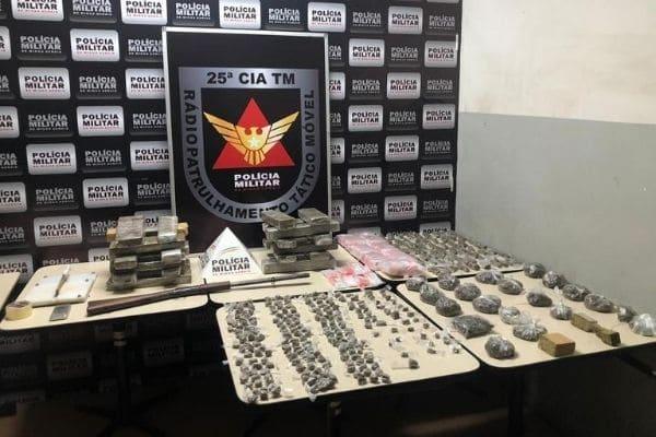 Imóvel usado para o tráfico de drogas é descoberto no Tropical