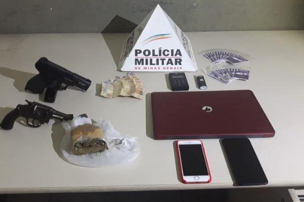 Morador denuncia e PM prende dois suspeitos no Carajás