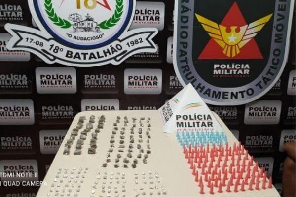 PM apreende drogas dentro de condomínio no Parque Maracanã