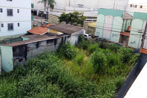 Temendo a dengue, moradores reclamam de lote vago