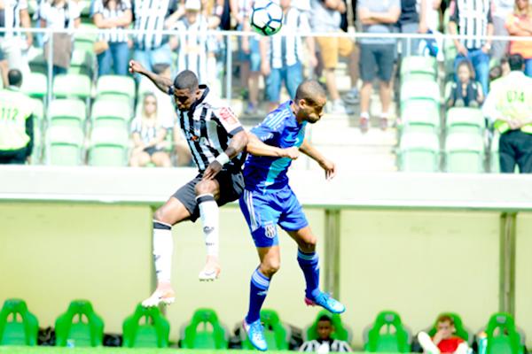 Atlético-MG e Ponte Preta empatam em Belo Horizonte