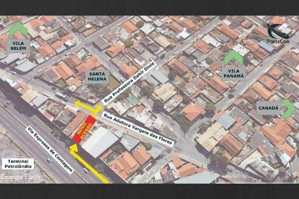 Novo acesso liga Via Expressa à avenida Adutora Várzea das Flores