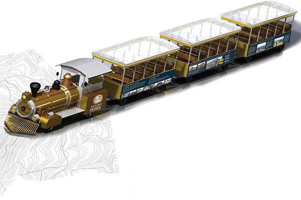 Santuário da Serra da Piedade terá acesso por trem
