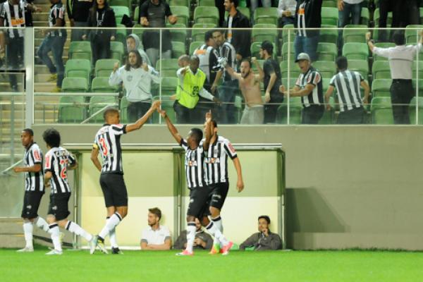 Galo sai na frente contra o Botafogo
