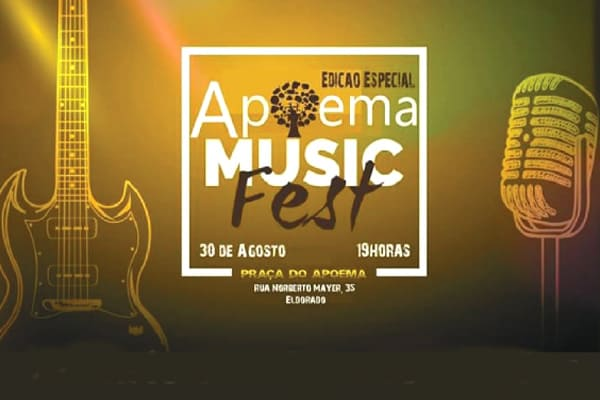 Apoema Music Fest será hoje