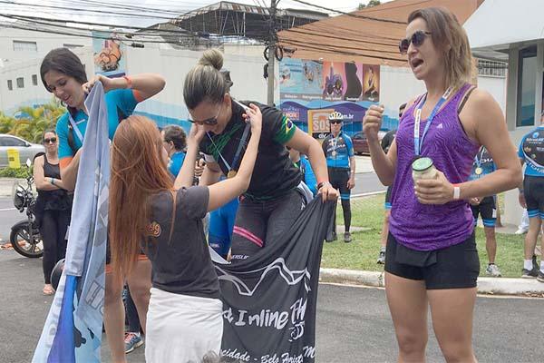 Contagense vence Meia Maratona Internacional de Patinação