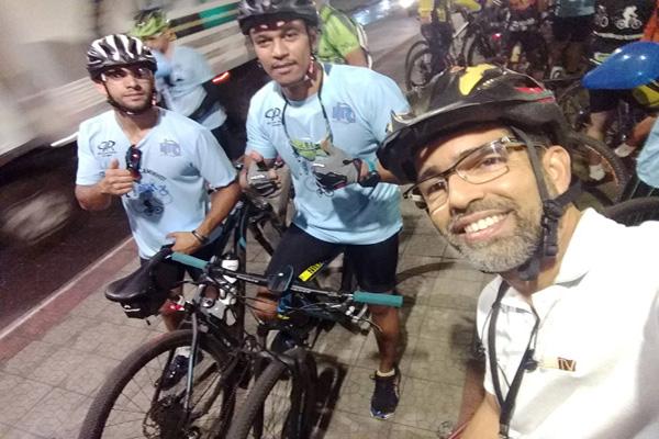 Passeio ciclístico encerra Novembro Azul em Contagem