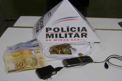 Assaltante é preso em Contagem