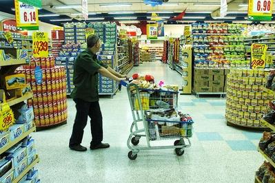 Faturamento do setor supermercadista