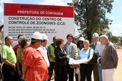 Centro de Controle de Zoonoses começará a ser construído.