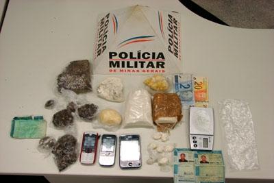Militares do 39º BPM apreendem grande quantidade de drogas
