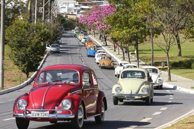 Dia Mundial do Fusca é comemorado em Belo Horizonte