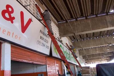 CeasaMinas passa por melhorias no sistema elétrico.