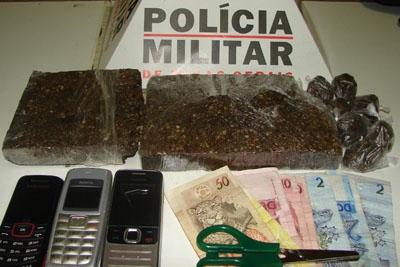 Menor de idade é preso com munições de uso restrito