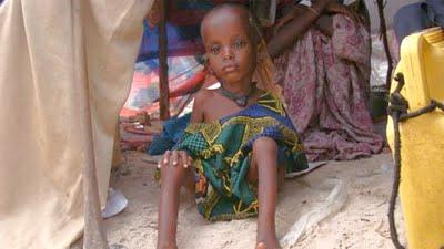 Fome na Somália pode atingir 750 mil pessoas