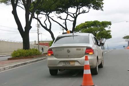 Aferição de radar tumultua trânsito