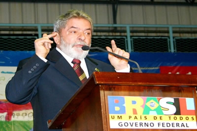 Educação - Contagem terá Cefet, anuncia Lula.