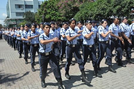 Novos guardas municipais para Contagem