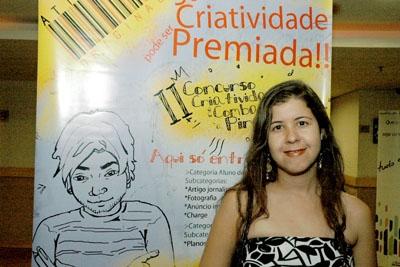 Professora de Contagem vence concurso Criatividade no Combate à Pirataria.
