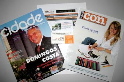 Revista Cidade, Revista Ponto Com e DC On-line, três projetos, três sonhos.