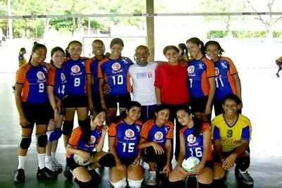 Voleibol Yucca de Contagem é campeão em Vespasiano.