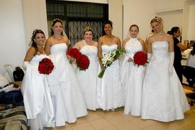Noivas escolhem o mês de dezembro para se casarem.