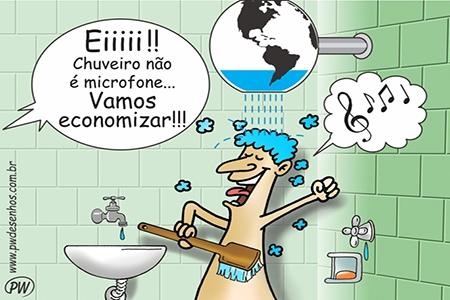 Economizar água é fundamental