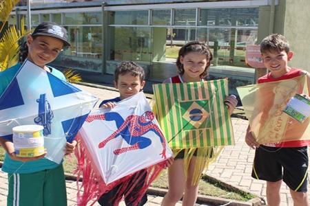 Contagem vai realizar o 1ª festival de papagaios no Parque Tropical