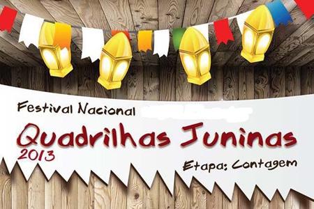 Etapa final do Festival Nacional de Quadrilhas está sendo realizada em Contagem