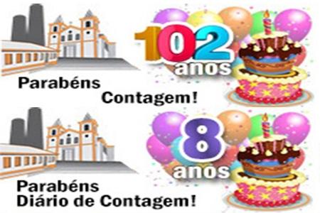 Parabéns Contagem, parabéns Jornal Diário de Contagem Online
