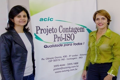 Projeto Contagem Pró-ISO oferece cursos.