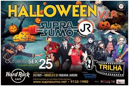 6ª edição do Halloween V.I.P será realizada no dia 25 de outubro