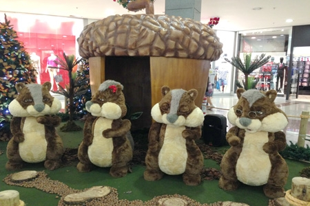 Decora��o de natal do Ita� Power Shopping conta com novidades