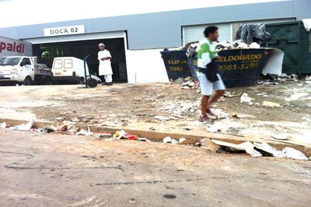 Morador do bairro Cabral reclama da falta de atenção das autoridades com a região