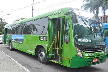 Contagem possui nova linha de �nibus Eldorado-BH