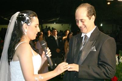 Casamento de Ana Márcia e César Augusto.