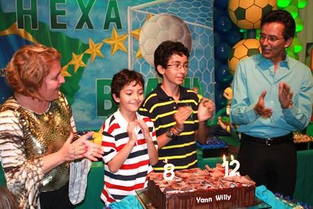 Aniversário de criança sem aventuras não tem graça