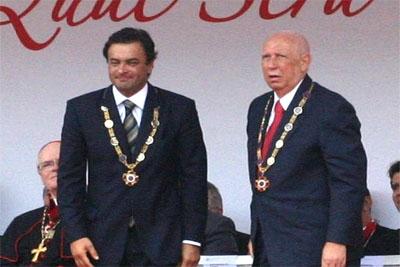 Sucessão presidencial foi pauta das comemorações do Dia de Tiradentes.