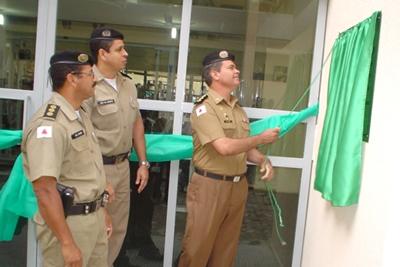 18º Batalhão de Polícia Militar de Contagem inaugura sala de musculação.