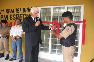 18º BPM inaugura sede própria do GEPAR em Nova Contagem.