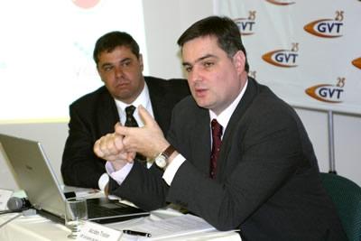 GVT chega a Contagem e quer liderar o mercado de telefonia fixa e internet banda larga.