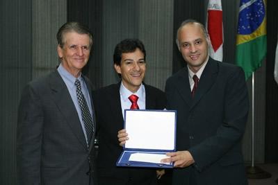 Deputado Carlin Moura, Cidadão Honorário de Contagem.