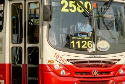 Nova numeração dos ônibus coletivo.