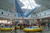 Bungy Trampolim � a grande atra��o do Big Shopping
