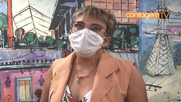 1ª Entrevista coletiva da Prefeita de Contagem Marília Campos (PT)