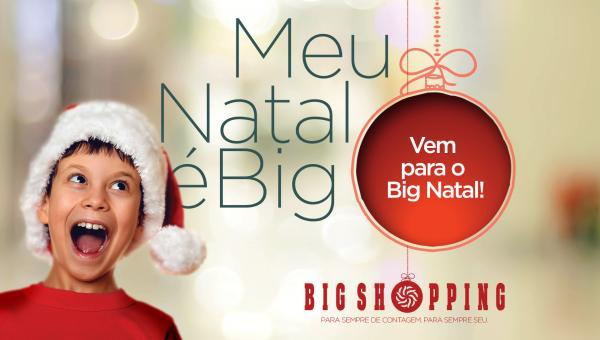Papai Noel já chegou ao Big Shopping
