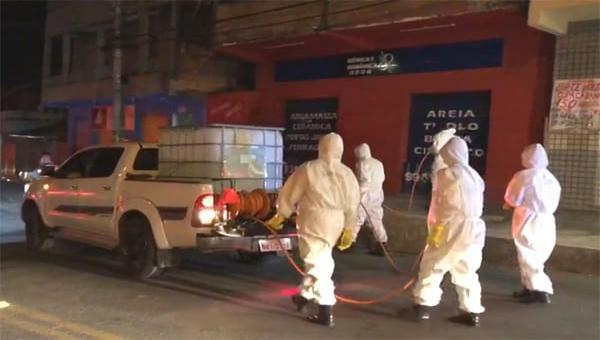 Prefeitura pretende desinfetar 35 pontos do município