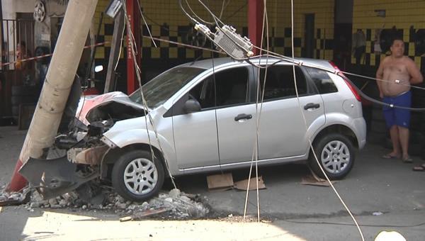 Cinco pessoas ficam gravemente feridas em acidente