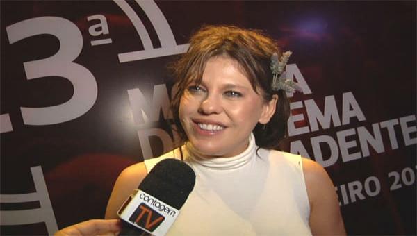 Bárbara Paz na 23ª Mostra de Cinema de Tiradentes