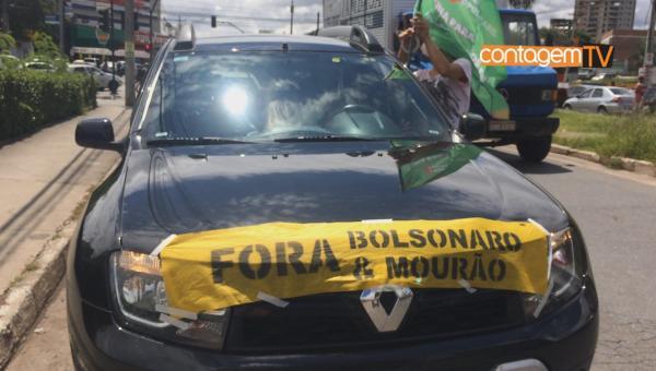 Carreata Fora Bolsonaro em Contagem